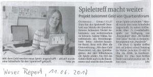 Weser Report 11.06.17